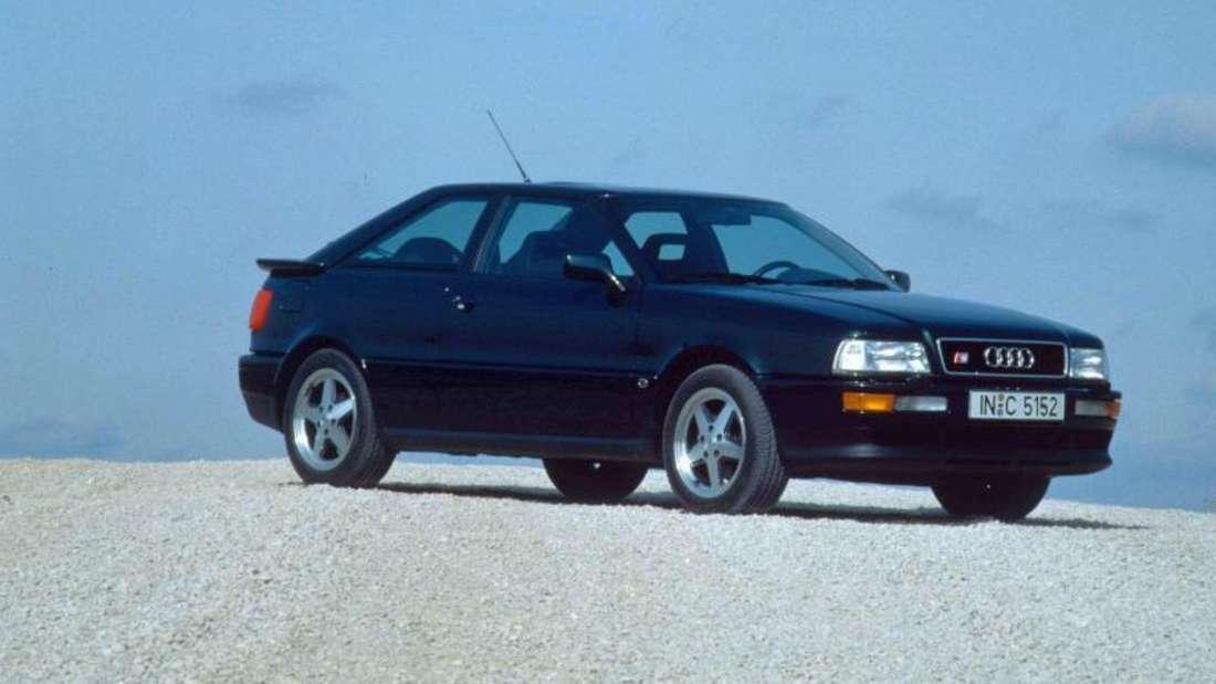 Schweres Erbe: Der Audi Coupé S2 (im Bild) folgte auf den legendären Quattro.