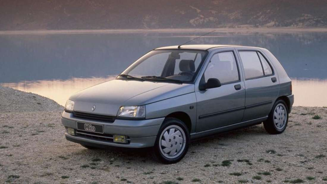 Anfang einer Kleinwagen-Ära: 1990 brachte Renault den ersten Clio auf den Markt.