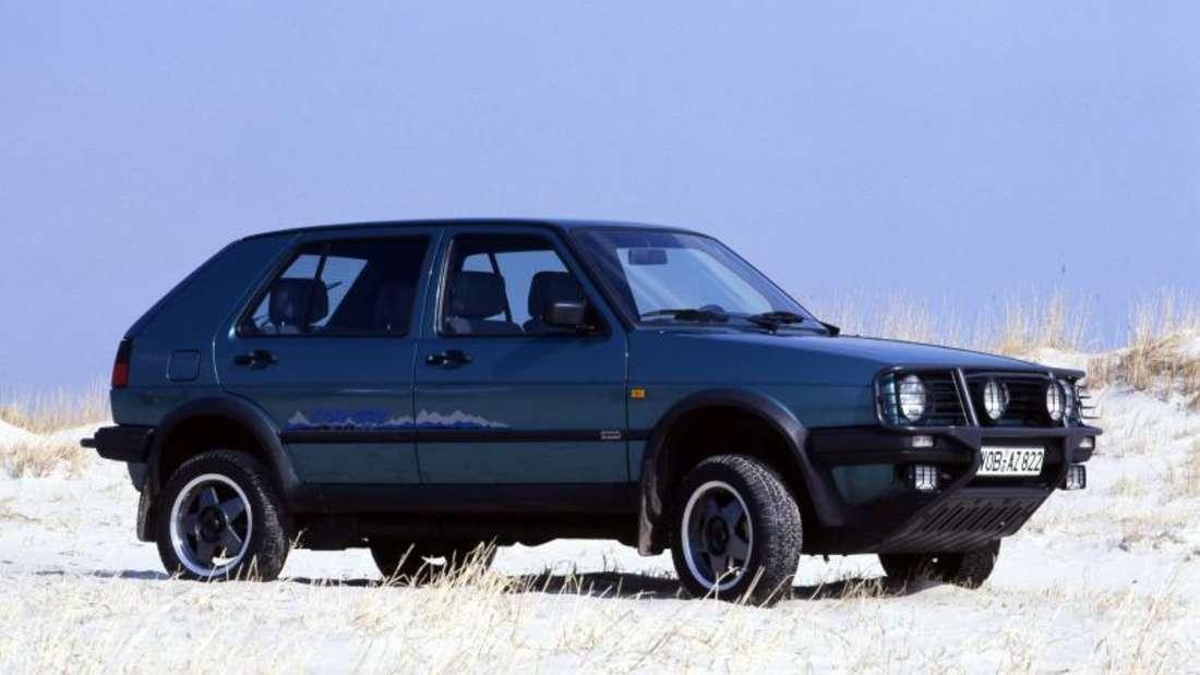 Der Golf II Country Syncro gilt als ein Vorgänger heutiger SUVs.