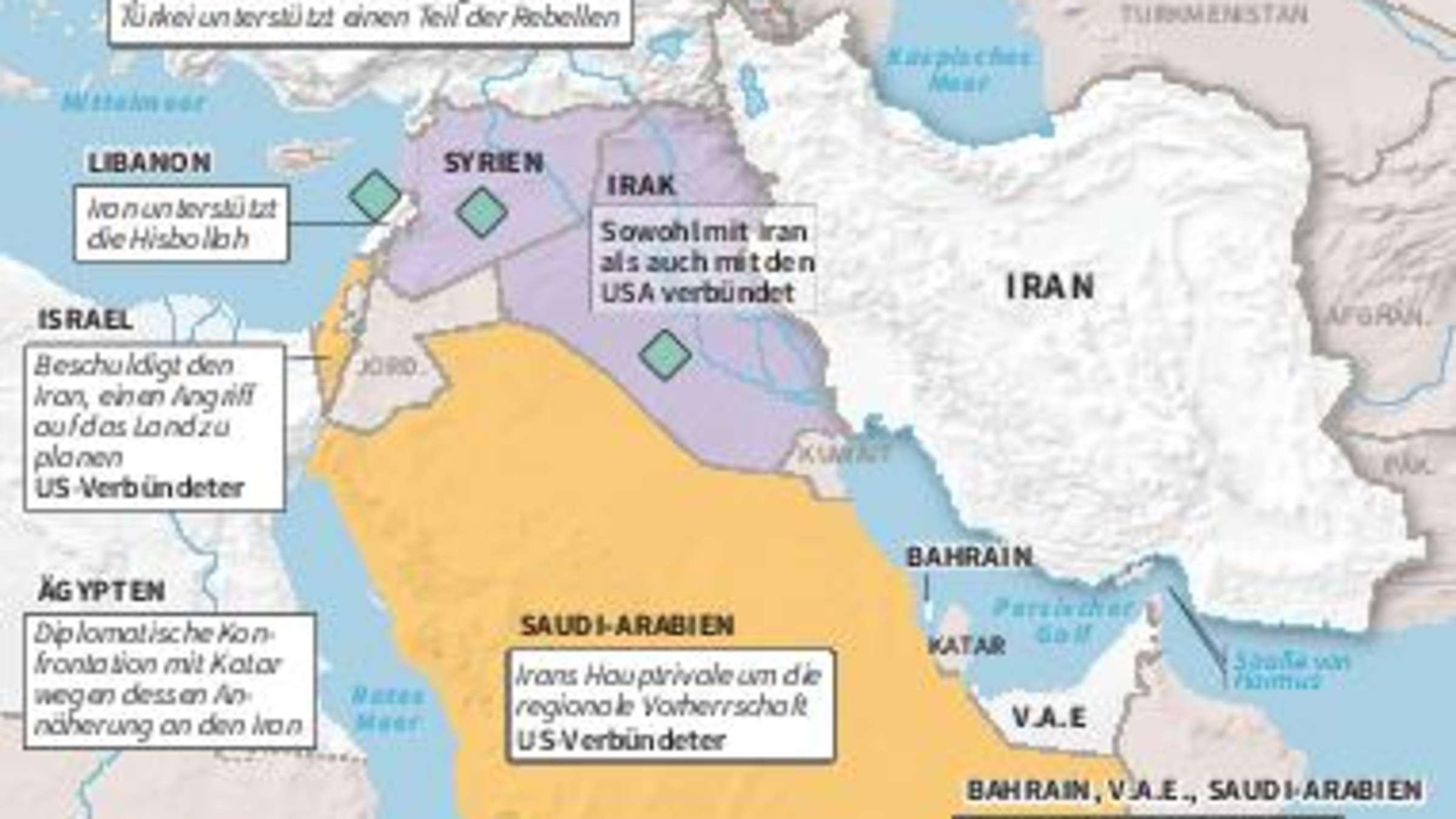 Naher Osten Ein Uberblick Uber Das Grosste Pulverfass Der Welt