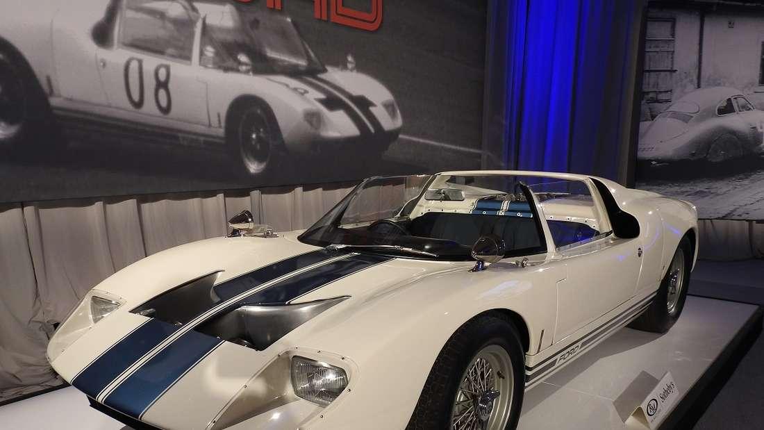 Platz 6 ging an einen Ford GT40 Roadster Prototype.
