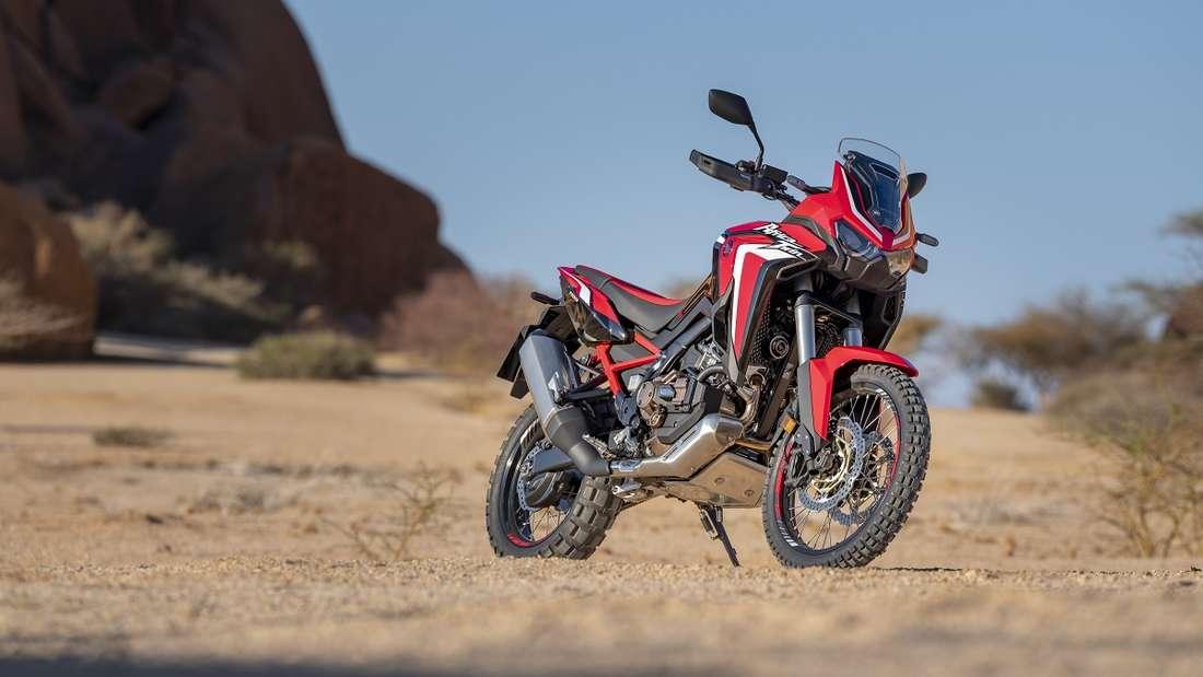 Große Resonanz am Markt dürfte 2020 Honda mit der neuen CRF1100 Africa Twin finden.