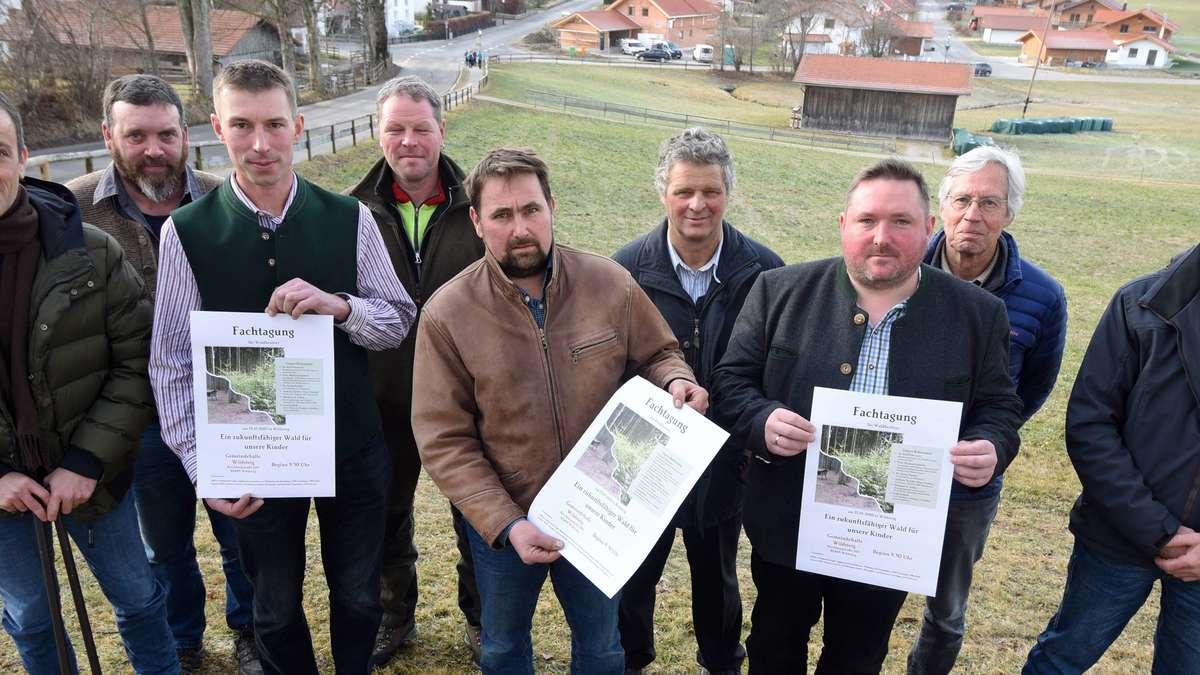 Premiere in Wildsteig: Hochkarätig besetzte Fachtagung für Waldbesitzer