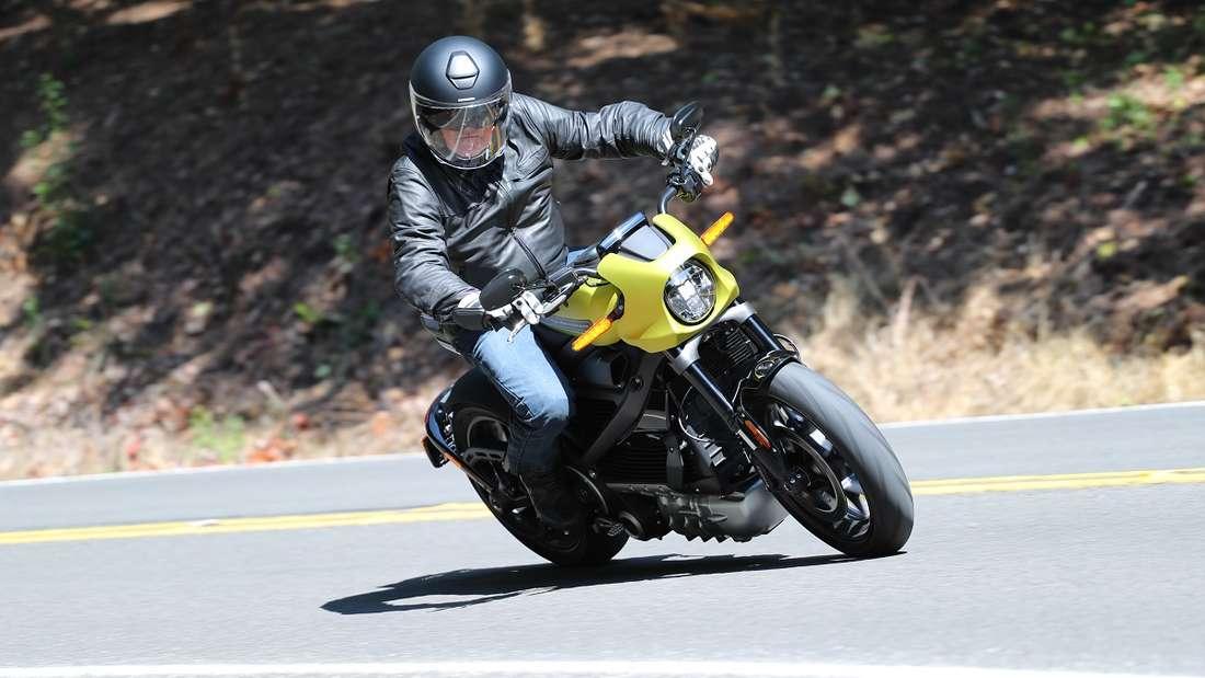 Das Motorrad LiveWire ist das erste elektrisch betriebene von Harley-Davidson.