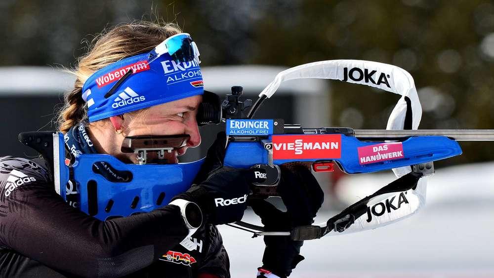 Fokussiert auf die Titelkämpfe: Vanessa Hinz hat das Auf und Ab der bisherigen Saison abgehakt. Für Antholz sieht sie ihre Formkurven beim Laufen und Schießen im Steigen.