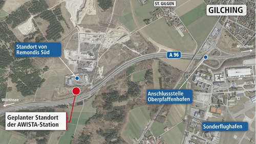 Attacke auf Umladestation