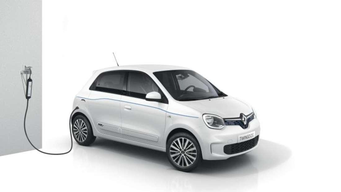 Kleinwagen voll unter Strom: Renault bringt den Twingo nun auch als reines E-Auto auf dieStraße. Foto: Renault/dpa-tmn