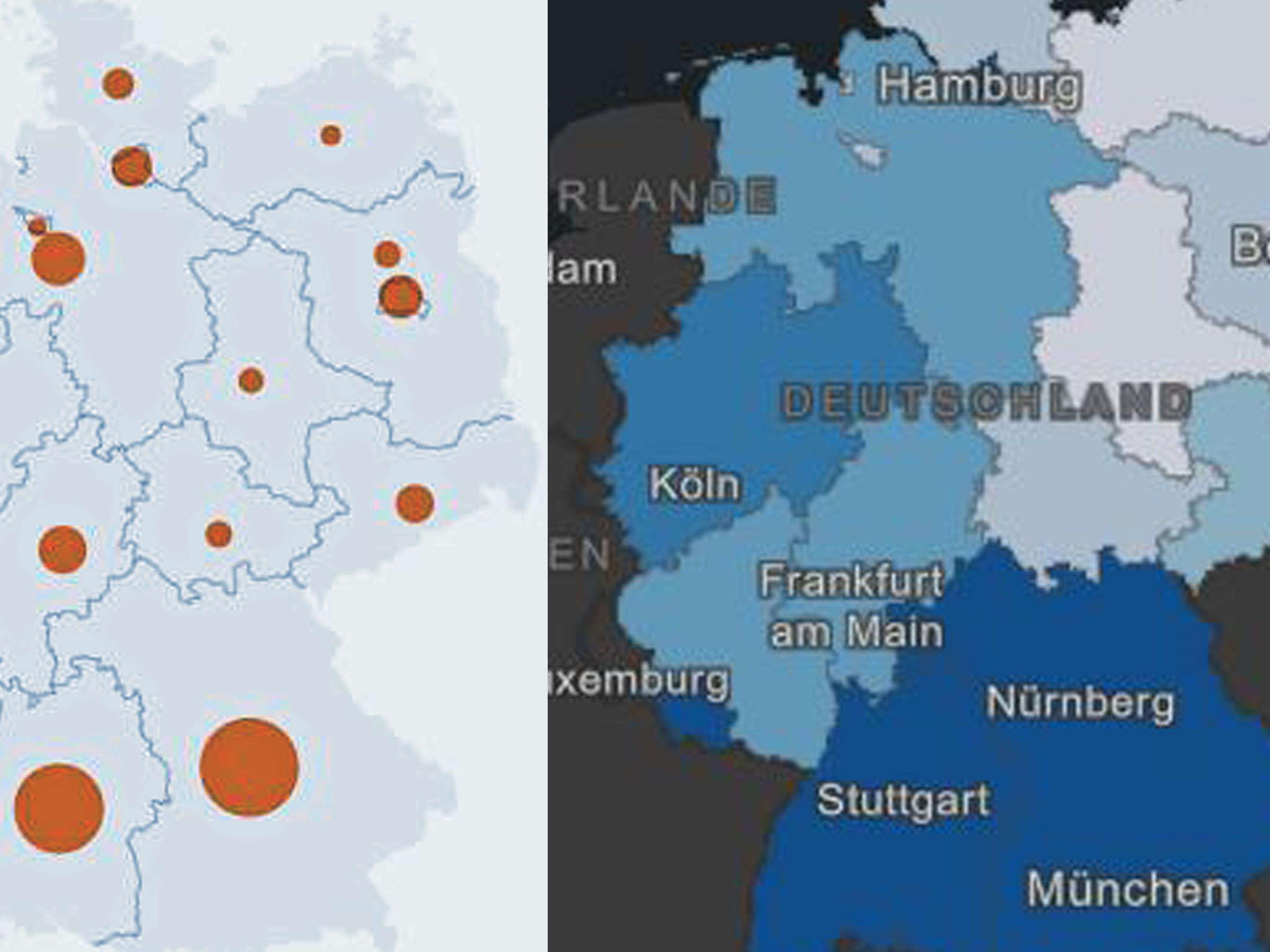 aktuelle landkarte deutschland Corona News: Deutschland Karte mit aktuellen Zahlen zu Toten und