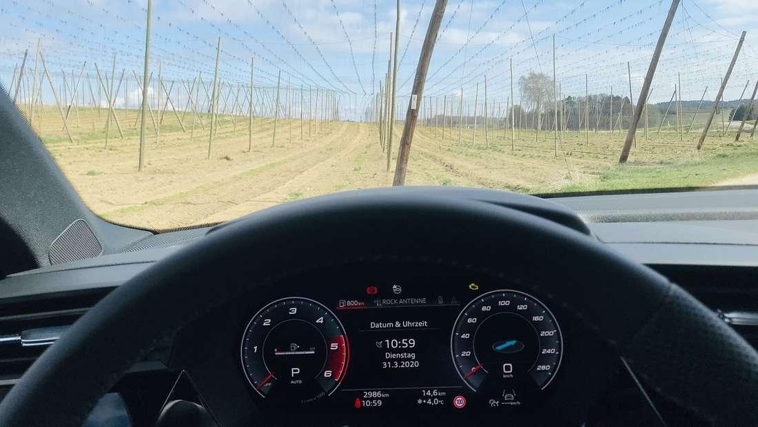 Das digitale Cockpit im neuen A3 Sportback kann individuell gestaltet werden.