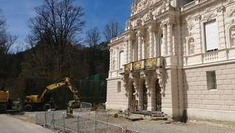 Schloss Linderhof Nutzt Corona Krise 135 Jahre Alte Parkettboden Restauriert Ettal