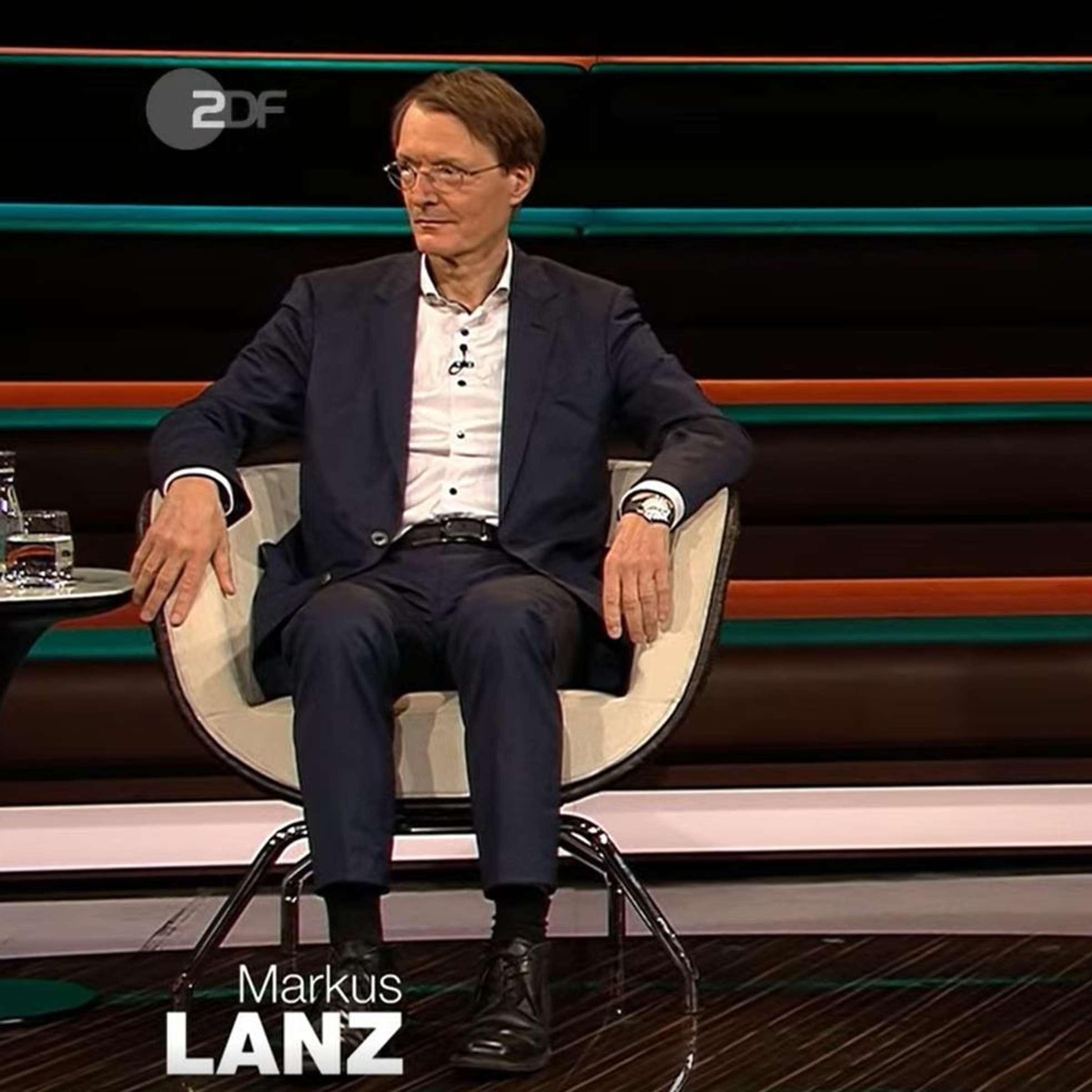 Markus Lanz Das Hatten Wir So Noch Nie Streit Hinter Den Kulissen Des Zdf Talks Politik