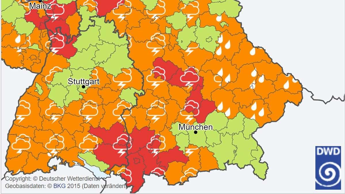 Wetter Fürth Bayern Aktuell
