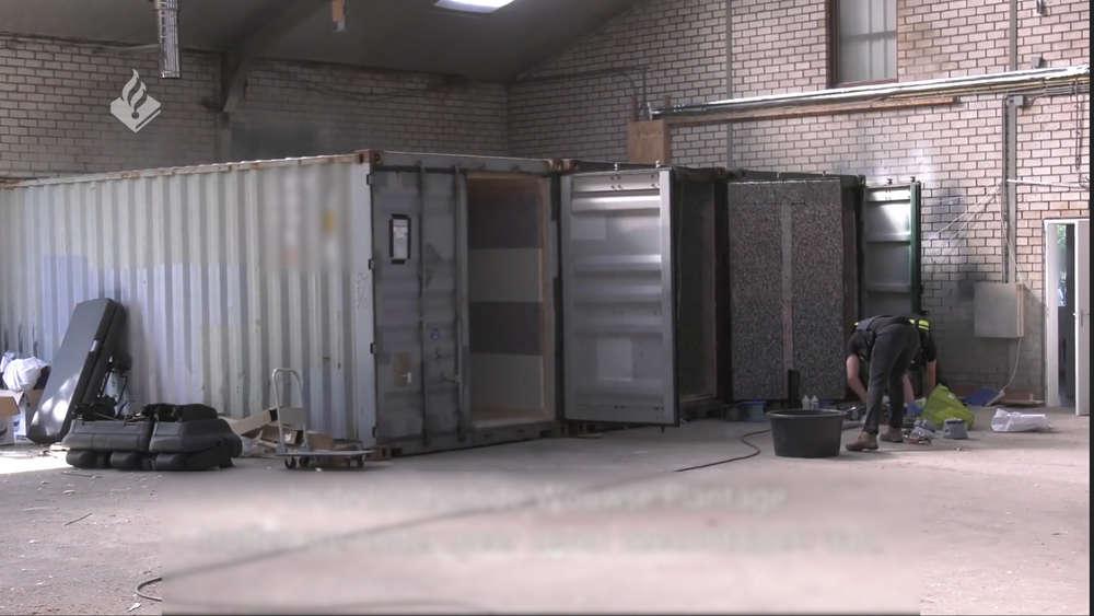 Container Folter Niederlande