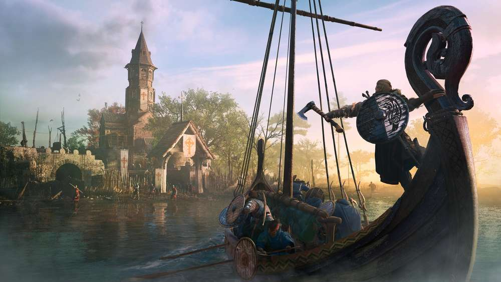 Assassin's Creed Valhalla Screenshot Langboot