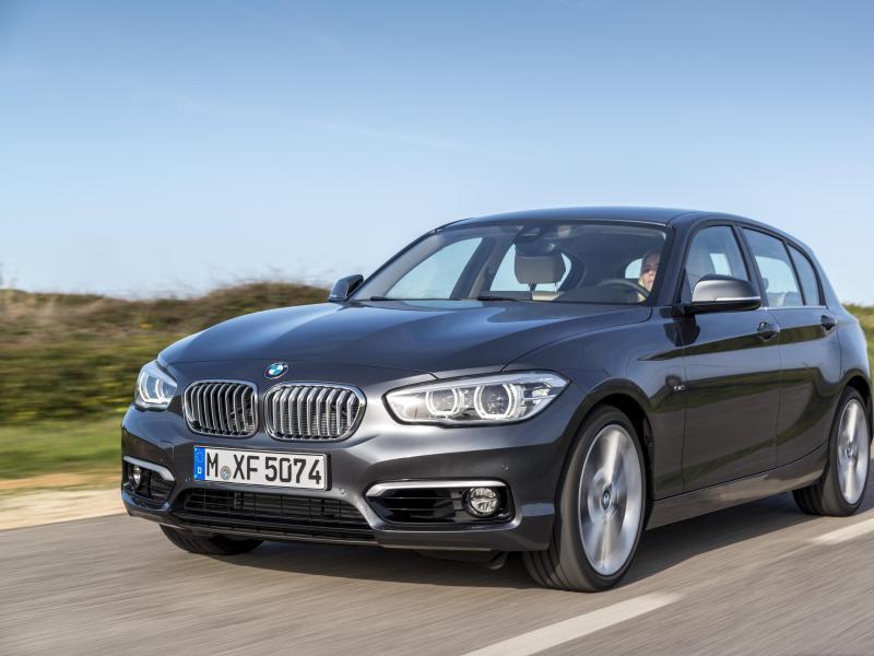 Kompaktalternative aus Bayern: Mit dem 1er rundet BMW seine konventionelle Palette seit 2004 nach unten ab. Foto: Tom Kirkpatrick/BMW AG/dpa-tmn