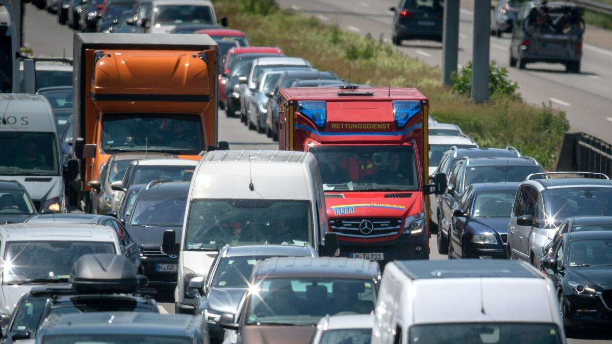 Verkehr A9 Bayern