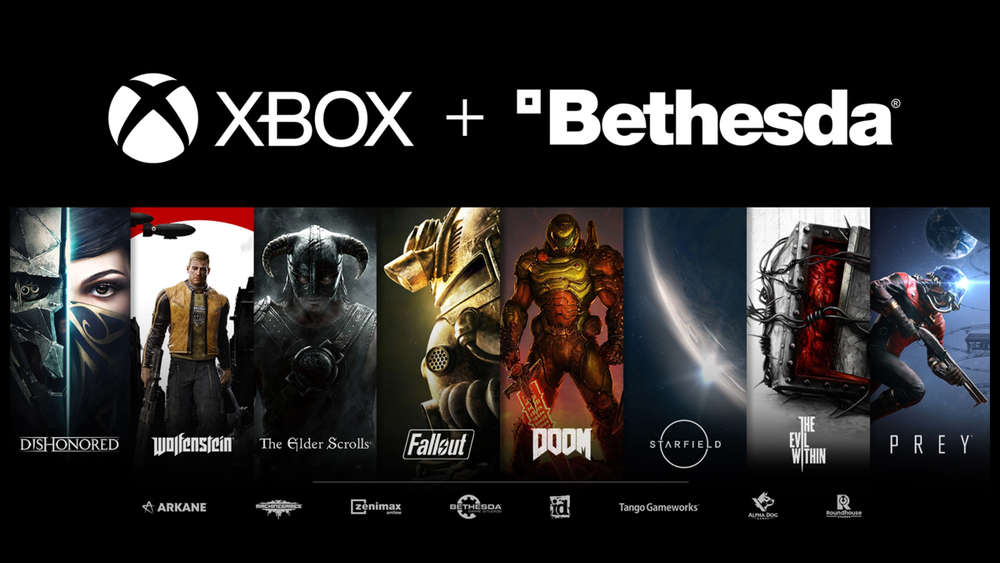 xbox series x microsoft kauft bethesda id arkane doom fallout starfield the elder scrolls dishonered deathloop ps5 exklusiv