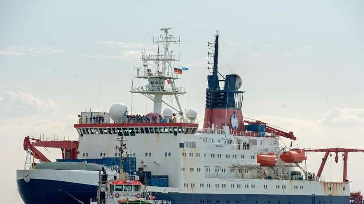 «Polarstern» nach Mammut-Expedition zurück in Bremerhaven