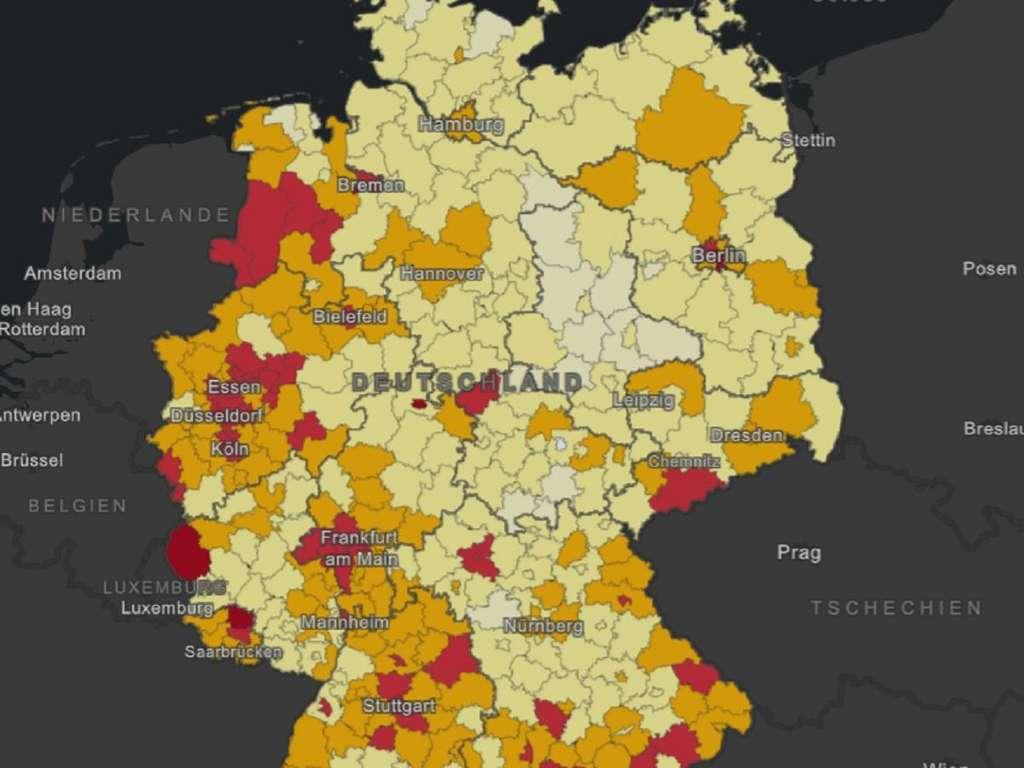 Corona In Deutschland Zahlen Rekord Rki Meldet 71 Corona Hotspots Und Appelliert An Die Bevolkerung Welt