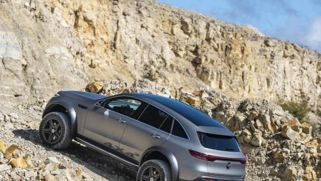Geländewagen von Mercedes
