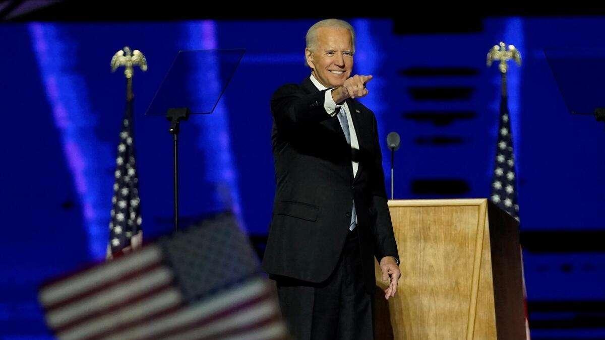 Joe Biden wird Präsident - Historische Rede...