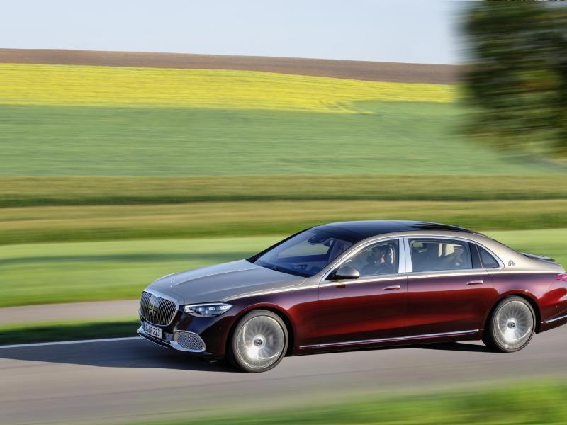 Maybach-Version der Mercedes S-Klasse