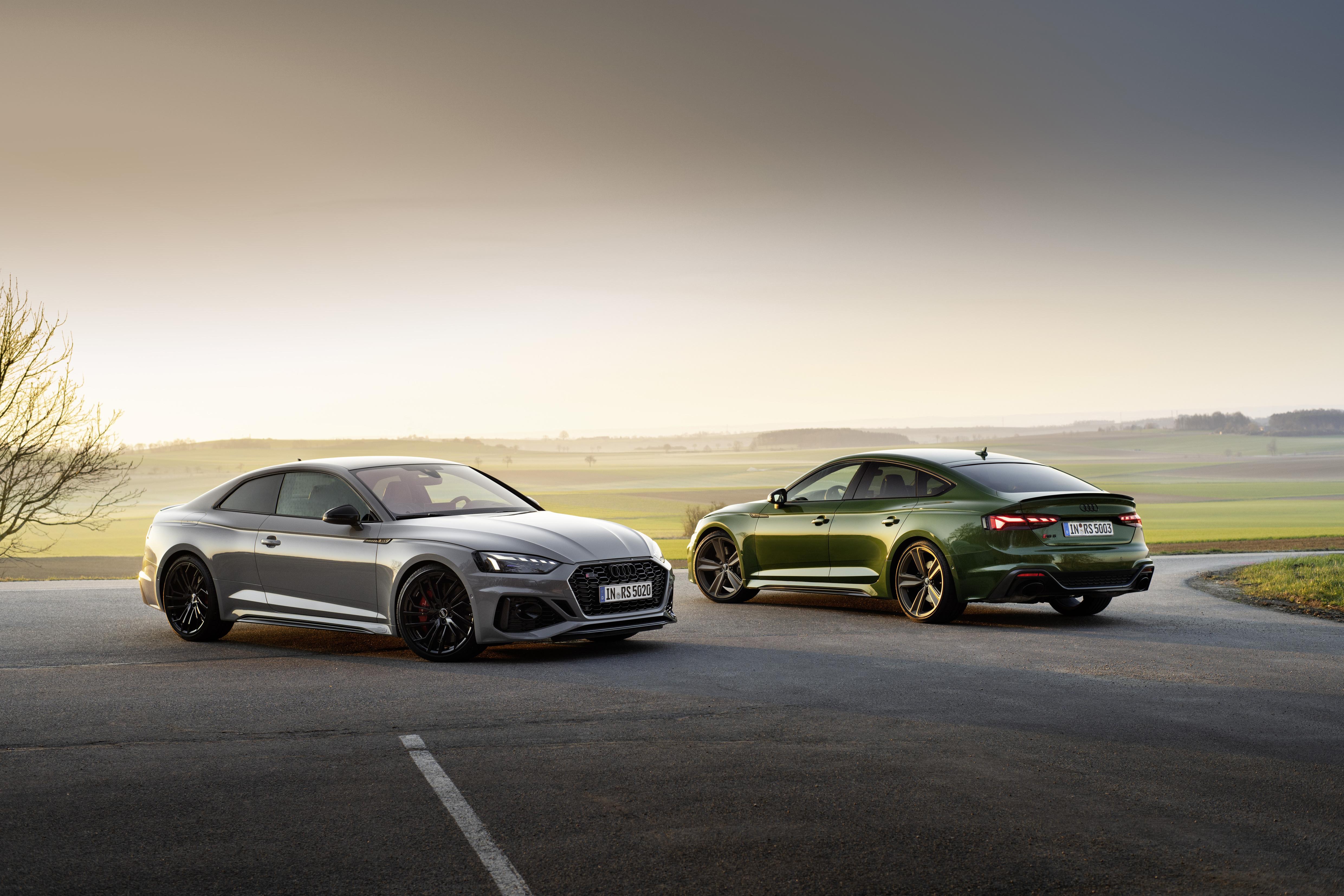 Coupé oder viertüriger Sportback - das sind die zwei Karosserie-Varianten, mit denen der Audi RS 5 angeboten wird.