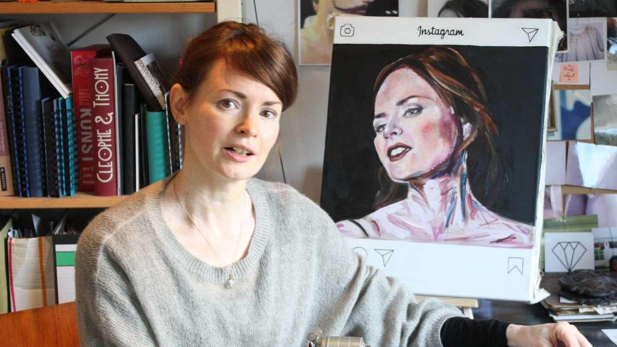 Wolfratshausen: Die Künstlerin Cleophe Bambuch im Porträt