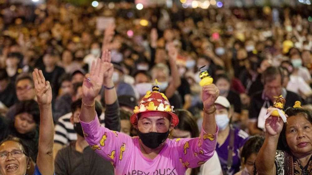 Protest in Thailand