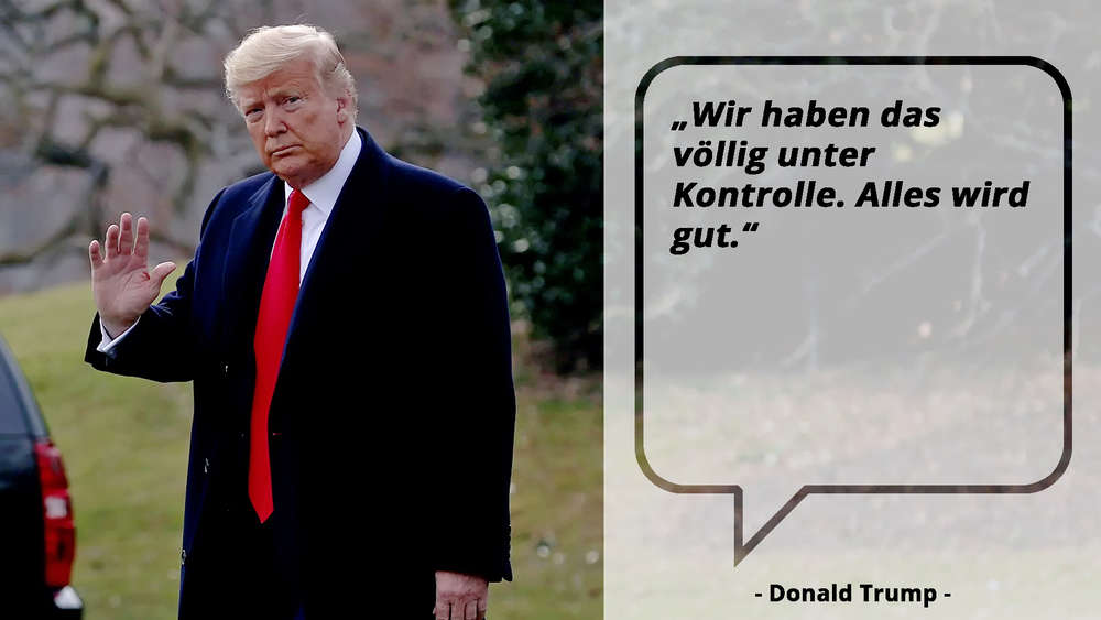 US-Präsident Donald Trump kommt in Washington an.