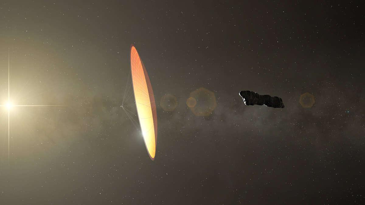Harvard-Astrophysiker ist sich ganz sicher: Alien-Satellit im Universum gesichtet - Merkur.de