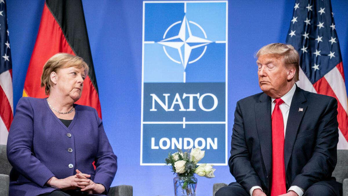 Dass Trump: Schröder schützt seine Nachfolgerin - kann ein...