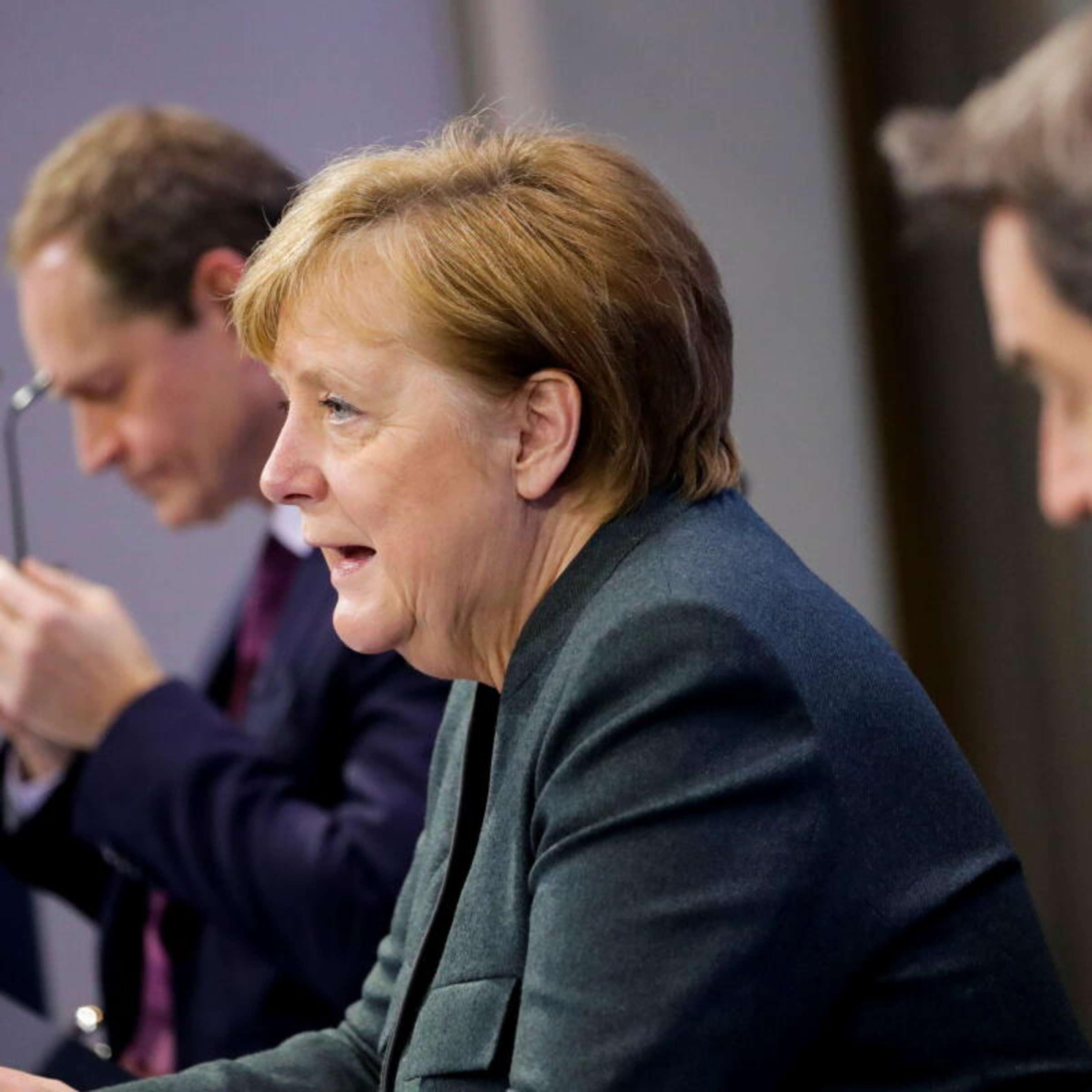 Corona Lockdown Merkels Gipfel Ruckt Naher Weist Der Neue Stufenplan Deutschland Den Ausweg Politik