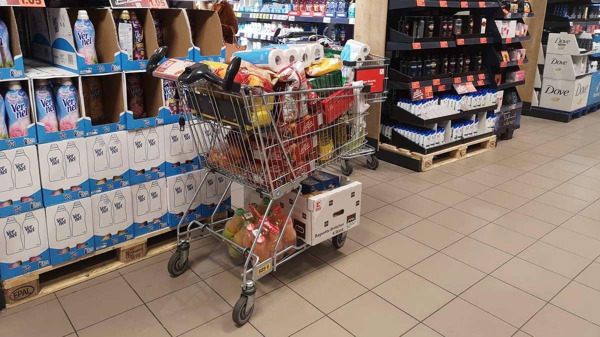 Supermärkte-Revolution: Einkaufswagen ohne Chips und Münze - Große Veränderung steht bevor - Merkur.de