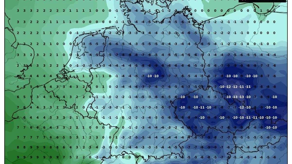 Winter-Wetter extrem: Wie lange dauert Deutschlands Kältewelle? Meteorologe mit eiskalter Prognose - Merkur.de
