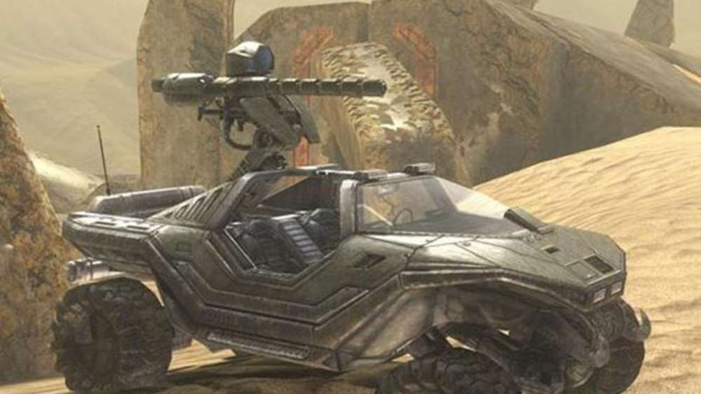 Warthog in Halo 3