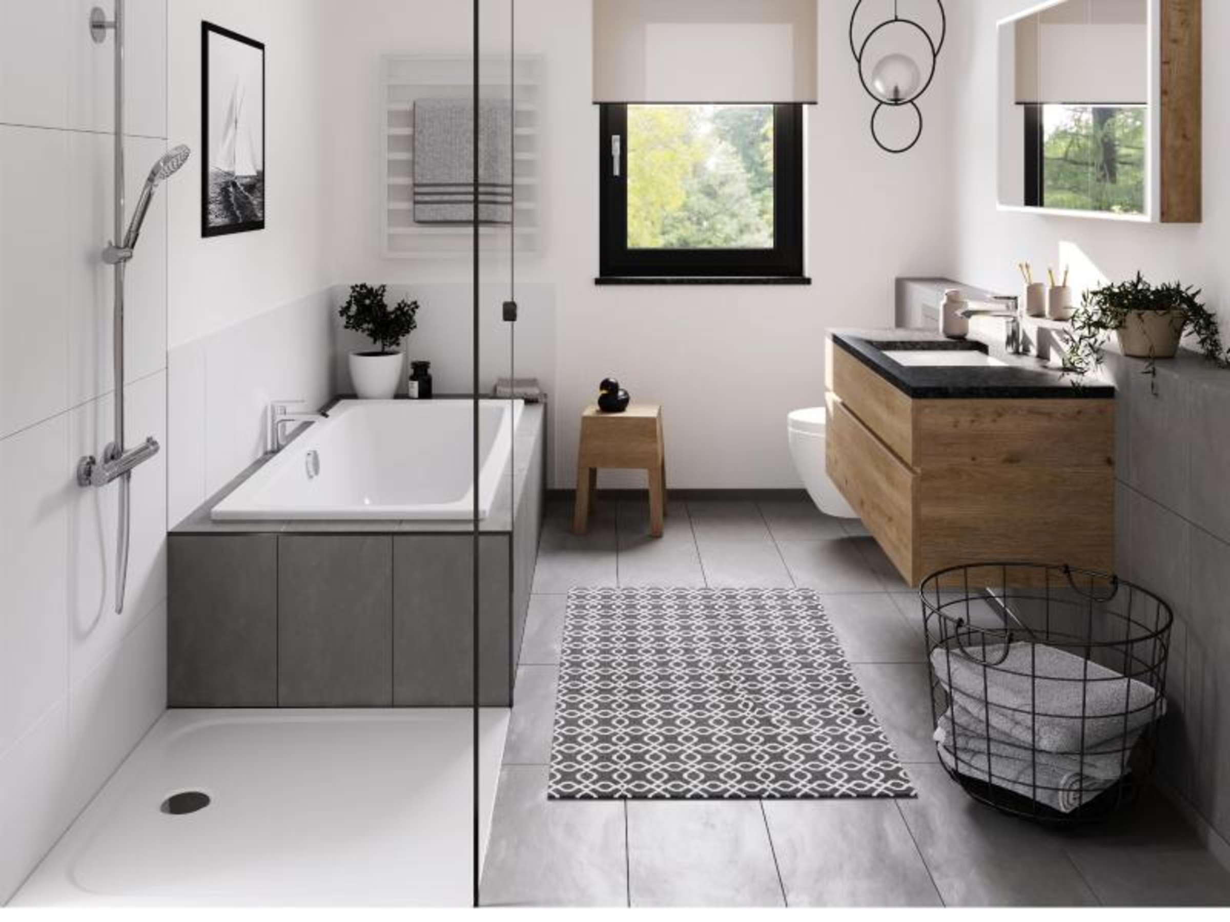 Das Badezimmer als privates Spa   wie sieht das aus   Wohnen