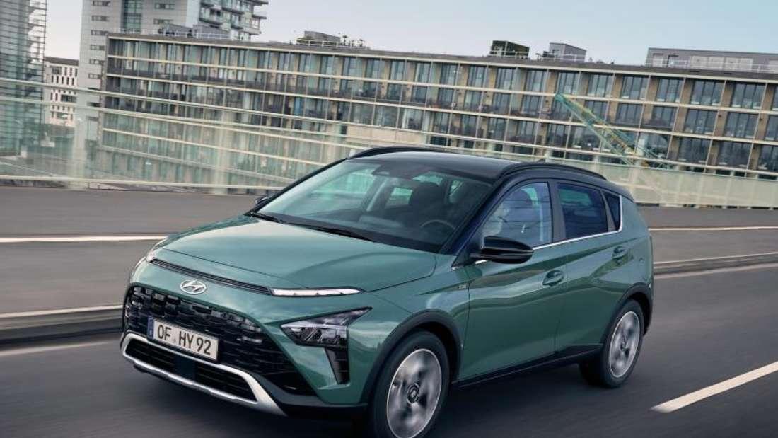 Der Hyundai Bayon startet ab 16 790 Euro