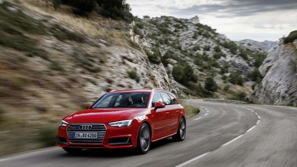 Der Audi A4 ist ein Wagen für Vielfahrer