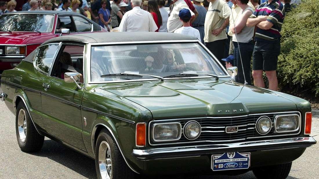 Das kultige Ford-Modell ist ein gerngesehener Gast auf Oldtimer-Veranstaltungen - wie hier im Jahr 2003