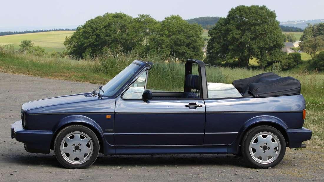 VW Golf 1 Cabriolet, Seitenansicht