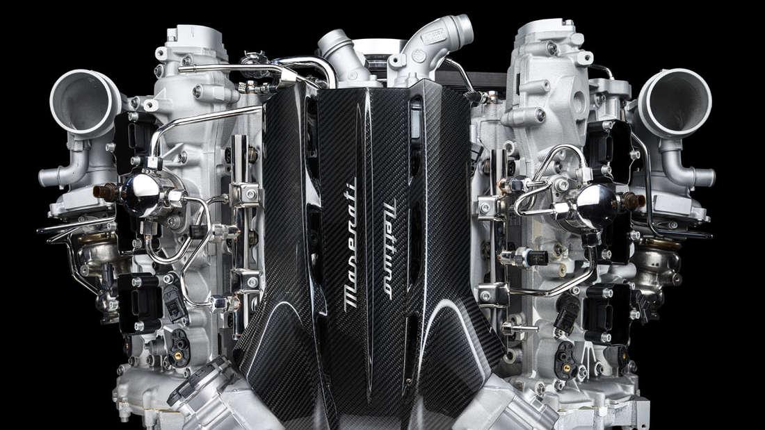Maserati MC20 Motor Nettuno