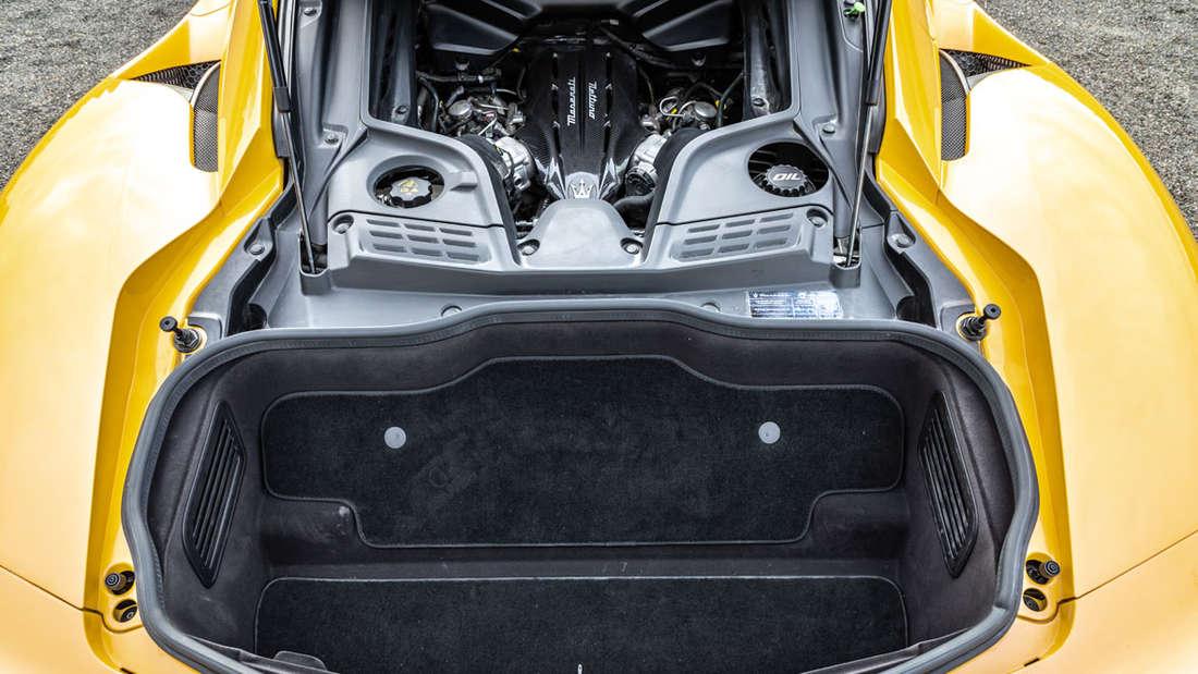 Maserati MC20 Kofferraum hinten