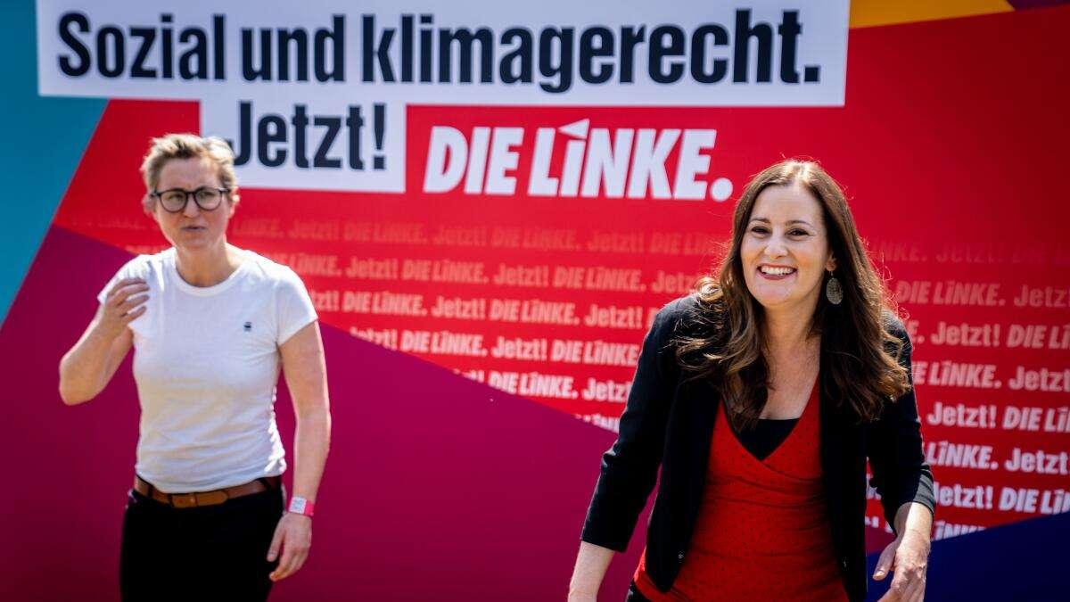 Linke taumelt gen Abgrund: Klare Absage an Koalition mit Union und FDP - versöhnliche Worte von Lafontaine