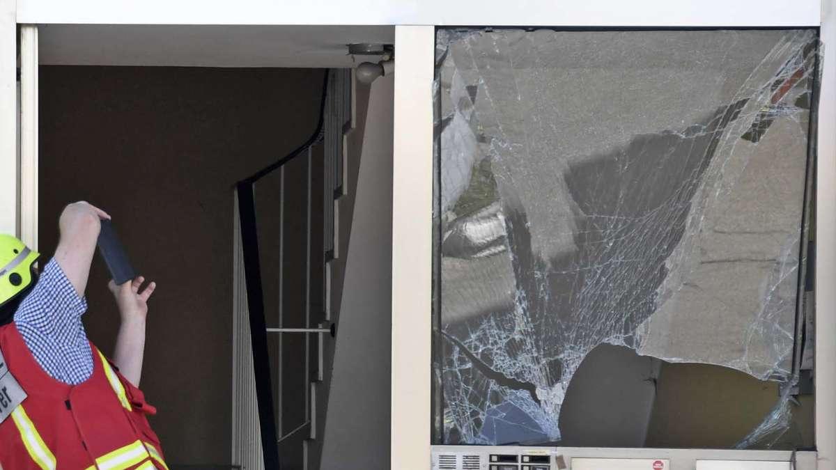 Kellerlabor bei München explodiert: Mann wird schwer verletzt - jetzt teilt Polizei Trauriges mit