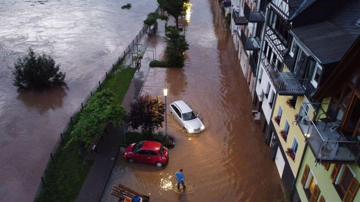 Unwetter Deutschland Zahl der Todesopfer steigt auf 8   Über ...