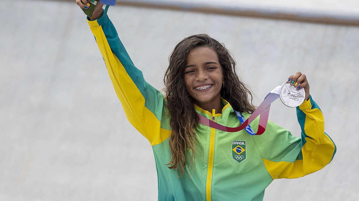 13-jährige Olympia-Heldin ruft zum Impfen auf - und schießt gegen Staatsoberhaupt