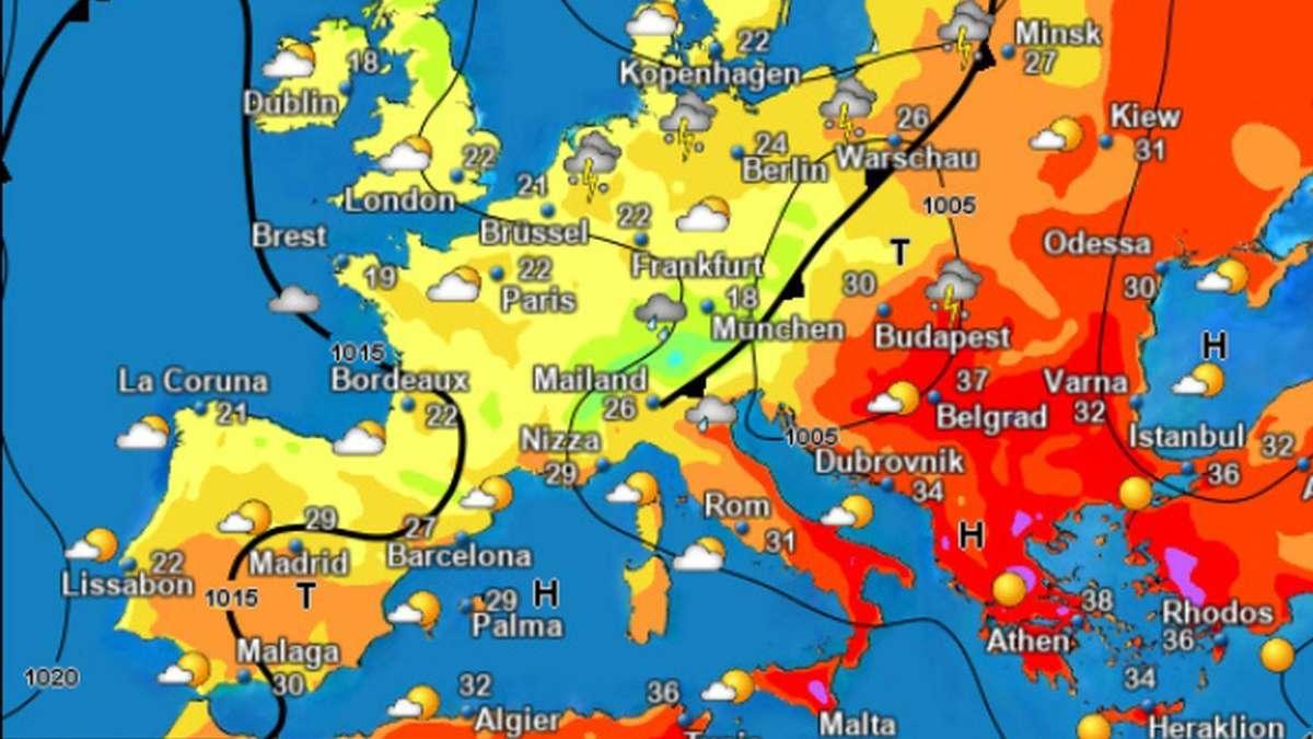 Brut-Hitze überrollt Mittelmeerraum - doch es droht eine noch größere Gefahr