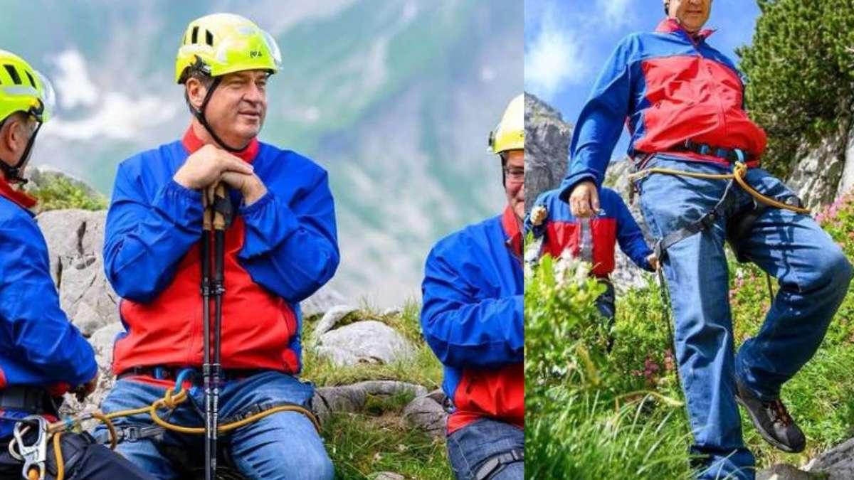 Söder verbreitet auf seiner Alpen-Tour eine wichtige Botschaft und bringt User damit gegen sich auf