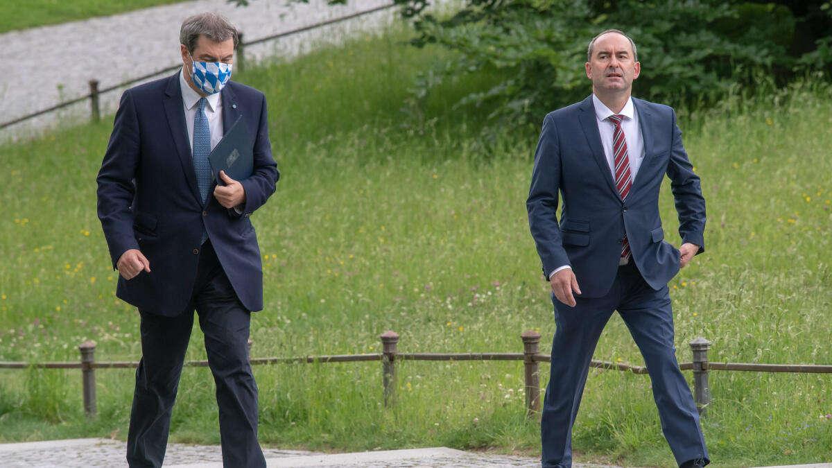 """Söder macht sich """"Sorgen"""" um Impf-Verweigerer Aiwanger – FDP-Mann legt Rauswurf nahe"""